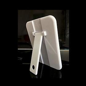 Gương trang điểm đề bàn chân gập hình chữ nhật S03 ( KBOX1998) dùng để trang điểm, Trang trí phòng, Hàng chính hãng