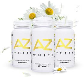 Combo 3 hộp viên uống trắng da AZ White tặng 1 Hộp AZ White 60 viên