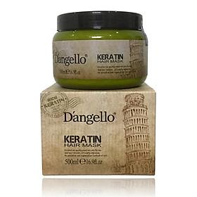 Dầu ủ phục hồi tóc hư tổn D'angello Keratin Hair mask 500ml