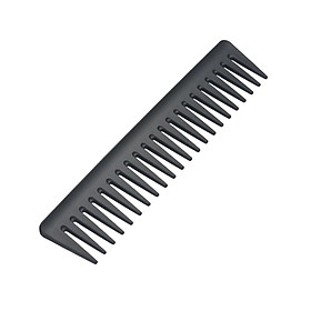 7 Inch Detangling Comb Wide Tooth Comb Hair Comb Styling Comb for Long Wet or Curly Hair