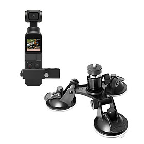 Suction Cup Car Holder Mount for DJI Osmo Pocket Car Glass Sucker Holder Driving Recorder Tripods DJI OSMO Pocket Accessories