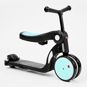 Xe scooter đa năng 5 trong 1 Roadstar freekids chính hãng cho bé 1-2-3-6 tuổi biến hình thông minh phiên bản 2020 kèm cần đẩy