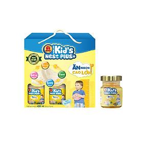 Lốc Nước Yến Kid's Nest Plus+ (6 lọ x 70ml) Tặng 1 Lọ Yến Kid's Nest Plus+