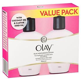 Olay Moisturising Lotion 150ml Twin Pack