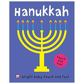 Bright Baby Touch And Feel Hanukkah
