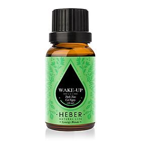 Tinh Dầu Tỉnh Táo Cả Ngày Wake-Up Blends Essential Oil Heber | 100% Thiên Nhiên Nguyên Chất | Cao Cấp Nhập Khẩu