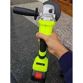 Máy mài pin-Máy cắt pin cầm tay không chổi than đầy đủ phụ kiện (Tặng 03 móc khóa hình công cụ)