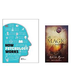 Combo 2 cuốn : The Magic - Phép màu + How Psychology Works - Hiểu Hết Về Tâm Lý Học