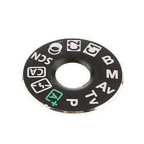 1 Pack Dial Mode Plate Interface Cap Cover Repair Fix Part for Canon EOS 80D Digital SLR Camera- Black