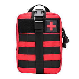 Tactical Bag First Aid Kit Outdoor Emergency Survival Pouch