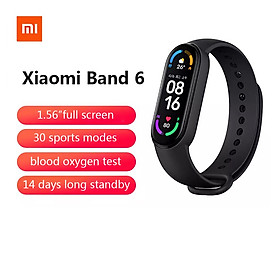 2021 Xiaomi Mi Band 6 smart watch- black