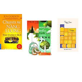 Combo 3 cuốn sách: Chuyến Xe Năng Lượng + Những Điều Tuổi trẻ Thường Lãng phí + Những Mảnh Ghép Tuổi Trẻ