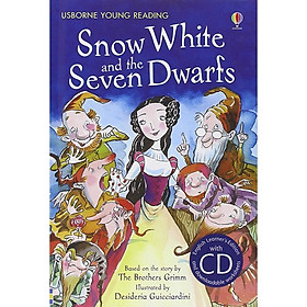 Usborne Snow White and the Seven Dwarfs + CD