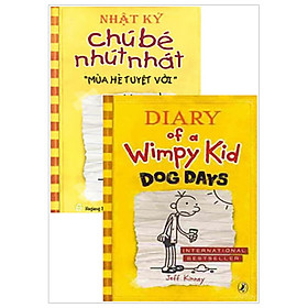 Combo Song Ngữ Diary Of A Wimpy Kid 4 - Mùa Hè Tuyệt Vời