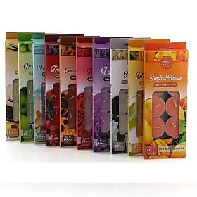 Combo 10 hộp nến tealight thơm Miss Candle FtraMart MIC0147 (Lựa chọn 10 mùi hương)