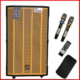 Loa Kéo Di Động Kết Nối Bluetooth JMW 15S , Bass 40cm, 1 Loa Trung, 1 Loa Treble, 3 Đường Tiếng,Công Suất 600W Chính Hãng