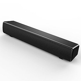 SADA V-103 Speaker Bar Computer Speakers Stereo HiFi Sound Wired Computer Sound Bar Rich Bass USB Powered Soundbar