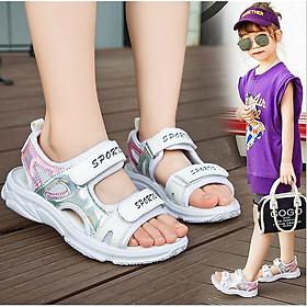 Sandal cho bé gái - giày đi học bé gái TTV55