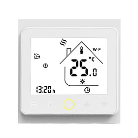 Tuya ZigBee3.0 Smart Thermostat 5A Weekly Programmable Temperature Controller APP Control Voice Control Compatible with