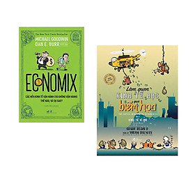Combo 2 cuốn sách: Economix  + Làm quen kinh tế học qua biếm họa tập 2 ( kinh tế vĩ mô)
