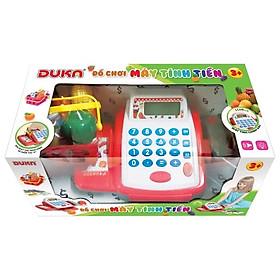 Bộ đồ chơi máy tính tiền màu đỏ 6100A