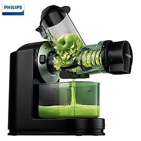 Máy ép trái cây tốc độ chậm nhãn hiệu Philips cao cấp HR1889/71 công suất 150W tích hợp công nghệ QuickClean với lưới lọc siêu nhỏ - Hàng Nhập Khẩu