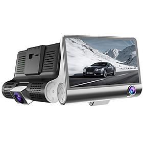 Camera hành trình ô tô 3 chiều CAR365.VN Chính Hãng Màn full HD 1080 kèm cam sau chống nước góc quay siêu rộng 170 độ - CAR21