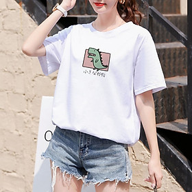 【Ready Stock】Fashion hot women's clonthing new short sleeve cotton T-Shirts HC008