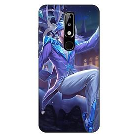Ốp lưng nhựa cứng nhám dành cho Nokia X5 in hình Tulen Hoang Tu