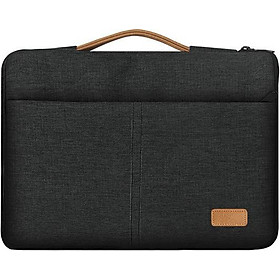 Túi chống sốc Macbook Air, Macbook Pro, Laptop đường chỉ giữa kèm quai xách