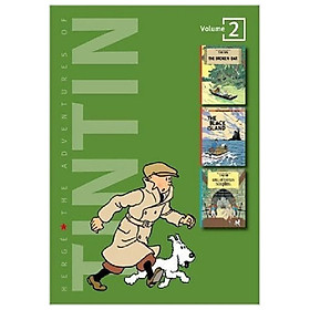 Adventures of Tintin 2 Complete Adventures in 1 Volume: WITH The Black Island AND King Ottokar's Sceptre: Broken Ear