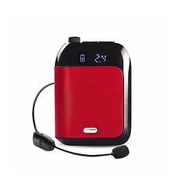 Máy trợ giảng không dây cao cấp Mỹ Aporo T9 2.4G Wireless – Kèm theo: 1 Micro ko dây + 1 Micro có dây cài tai + 1 Micro có dây cài ve áo