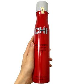 Keo xịt CHI Helmet Head Extra Firm Hair Spray giữ nếp tóc cứng cao cấp Mỹ 284g