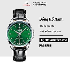 Đồng hồ nam PAGINI PA015588G dây da cao cấp – Hiển thị lịch ngày – Mang lại cho bạn sự năng động, trẻ trung
