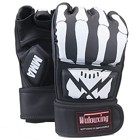 Găng Tay Boxing Đấm Bốc MMA Xỏ Ngón