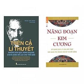 Combo 2 cuốn sách hay : Năng đoạn kim cương + Trên Cả Lí Thuyết - Những Bài Học Kinh Doanh Steve Jobs Để Lại Cho Thế Giới ( Tặng kèm Bookmark )