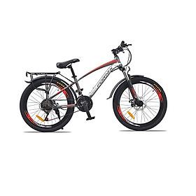 Xe đạp địa hình hiệu Fornix FT24, vòng bánh 24'', màu Xám đỏ