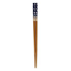 Đũa Nhật Mẫu Hoa 22.5cm (1 Đôi) - Nội Địa Nhật Bản - Giao Màu Ngẫu Nhiên