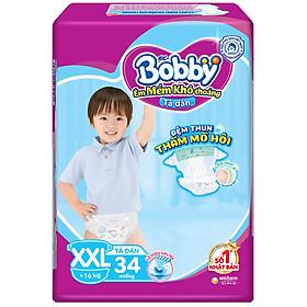 Tã Dán Bobby Fresh Siêu Mỏng Gói Đại XXL34 (34 Miếng)