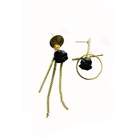 Hình đại diện sản phẩm Bông tai Black Roses Socute - Đẹp Accessories