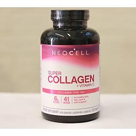 Viên uống Collagen NeoCell Super Collagen +C và Biotin mẫu mới