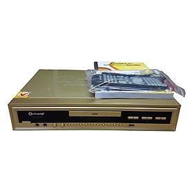 Đầu DVD Karaoke Arirang AR-36MD (Vàng) + 2 Micro Có Dây Arirang 3.6B - Hàng Chính Hãng