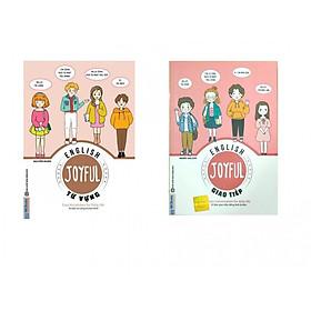 Combo 2 cuốn sách Vui học tiếng anh Từ vựng +  Vui học tiếng anh Giao tiếp ( tặng sổ tay mini dễ thương KZ )