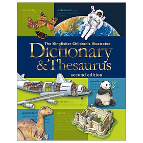 US Kingfisher Children's Illustrated Dictionary and Thesaurus