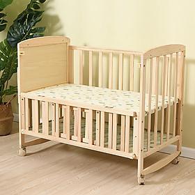 Cũi gỗ cho bé nhiều chức năng