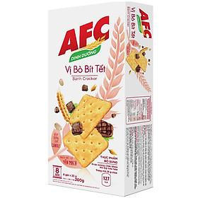 Bánh Kinh Đô AFC Dinh Dưỡng Vị Bò Bít Tết Hộp 200g
