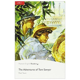 Level 1: The Adventures of Tom Sawyer Book & CD Pack (Pearson English Graded Readers)