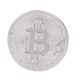 Metal Gold Plated Bitcoin Commemorative Coin Medal Art Collection Gift Souvenirs