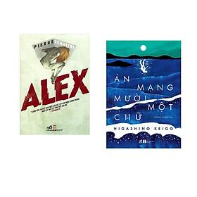 Combo 2 cuốn sách: Alex   + Án mạng mười một chữ