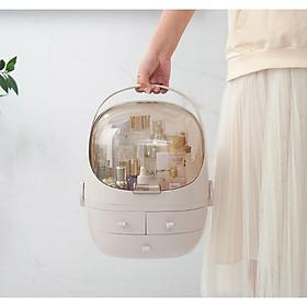 Tủ đựng mỹ phẩm, hộp đựng mỹ phẩm trending Hàn Quốc